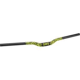 Sixpack Menace 725 Handlebar 35 mm, for shaft coupling, black/neon yellow